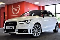 USED 2015 15 AUDI A1 1.6 SPORTBACK TDI S LINE STYLE EDITION 5d 103 BHP