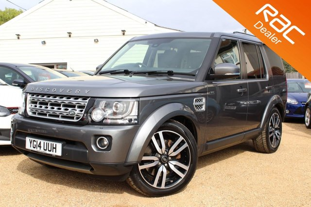View our 2014 14 LAND ROVER DISCOVERY 3.0 SDV6 HSE 5d AUTO 255 BHP