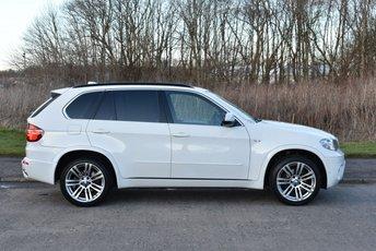 2010 BMW X5 3.0 XDRIVE30D M SPORT 5d AUTO 241 BHP £18990.00