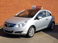 USED 2009 59 VAUXHALL CORSA 1.2 ACTIVE PLUS AIR CON WITH PANORAMIC TILT & SLIDE ROOF