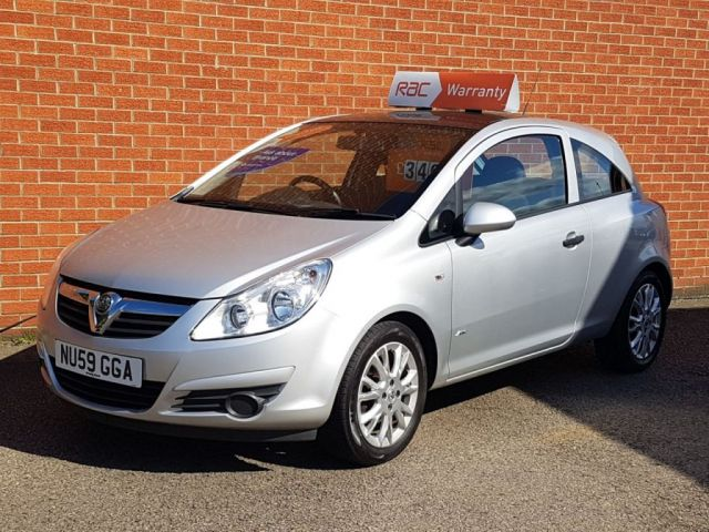 2009 59 VAUXHALL CORSA 1.2 ACTIVE PLUS AIR CON WITH PANORAMIC TILT & SLIDE ROOF