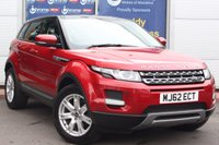 USED 2012 62 LAND ROVER RANGE ROVER EVOQUE 2.2 TD4 PURE 5d 150 BHP