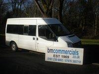 2007 FORD TRANSIT 2.2 280 MINIBUS 12STR 1d 109 BHP  £5995.00