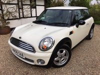 2008 MINI HATCH ONE 1.4 ONE 3d 94 BHP £3250.00