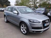USED 2008 08 AUDI Q7 3.0 TDI QUATTRO S LINE 5d AUTO 240 BHP SPACIOUS DIESEL FAMILY CAR WITH EXCELLENT SERVICE HISTORY, GREAT SPEC, DRIVES SUPERBLY