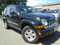 USED 2005 54 JEEP CHEROKEE 2.8 LIMITED CRD 5d AUTO 161 BHP NICE 4X4 + MOT MARCH 2018