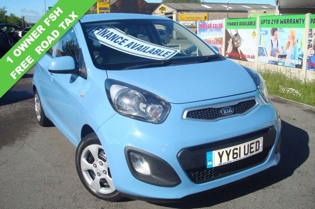 2011 61 KIA PICANTO 1.0 1 AIR 5d 68 BHP FREE ROAD TAX