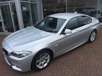 2012 BMW 5 SERIES 2.0 520D M SPORT 4d AUTO 181 BHP £SOLD