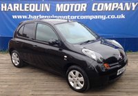 USED 2005 05 NISSAN MICRA 1.5 SX DCI 5d 81 BHP SUPERB 2005 5 DOOR NISSAN MICRA 1.5dci SX IN METALLIC BLACK 1/2 LEATHER INTERIOR ALLOYS SERVICE HISTORY INC CAM BELT