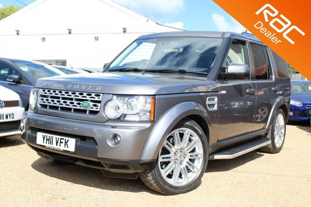 View our 2011 11 LAND ROVER DISCOVERY 3.0 4 SDV6 HSE 5d AUTO 245 BHP
