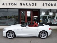 USED 2012 62 BMW Z4 3.0 Z4 SDRIVE30I M SPORT HIGHLINE EDITION 254 BHP *F/D/S/H* ** F//D/S/H * NAV * RED LEATHER **