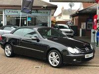 2007 MERCEDES-BENZ CLK 1.8 CLK200 KOMPRESSOR AVANTGARDE 2d AUTO 181 BHP £6995.00