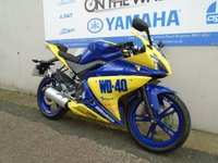 USED 2015 15 YAMAHA YZF-R125 WD-40 GRAPHICS  **HPI CLEAR** ** LOW MILES **