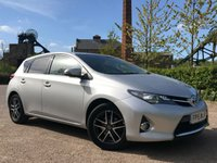 USED 2015 TOYOTA AURIS 1.6 VALVEMATIC ICON PLUS (VAT QUALIFYING) One Owner From New!