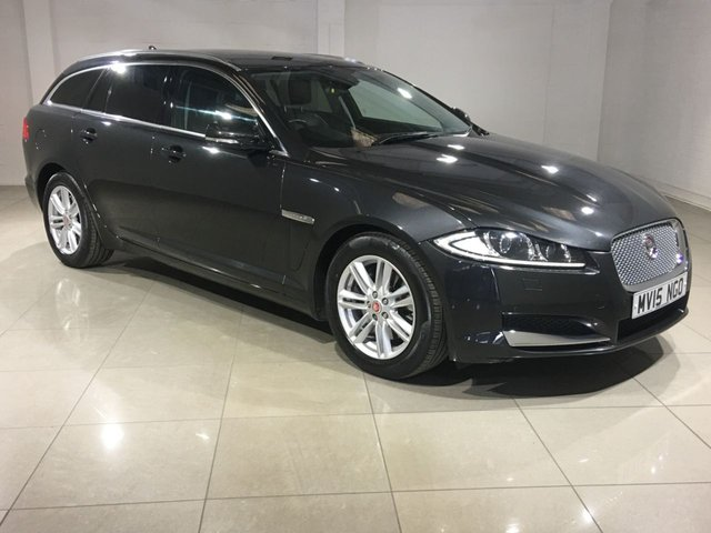 View our 2015 15 JAGUAR XF 2.2 D LUXURY SPORTBRAKE 5d AUTO 163 BHP