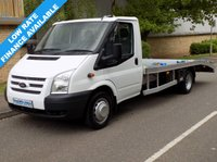 USED 2012 62 FORD TRANSIT 2.2 RWD 350 LWB DRW RECOVERY TRUCK 125 BHP 6 SPEED Brand New & Un-Used Recovery Build, Ready To Work!