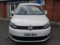 USED 2015 15 VOLKSWAGEN CADDY 1.6 C20 TDI BMT HIGHLINE 1d 101 BHP