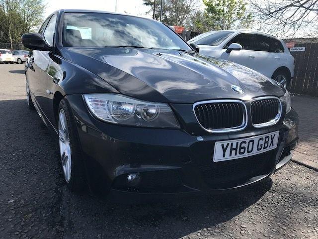 2010 60 BMW 3 SERIES 2.0 318D M SPORT 4d 141 BHP