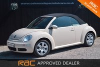 USED 2006 06 VOLKSWAGEN BEETLE 1.4 LUNA 16V CONVERTIBLE *1 OWNER + LOW MILES*  ONLY 36,000 MILES !!!
