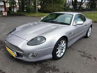 USED 2001 ASTON MARTIN DB7 5.9 VANTAGE 2d AUTO 420 BHP SILVER WITH CREAM LEATHER PIPED BLACK TRIM ONLY 45000 FSH EXCELLENT CONDITION AND DRIVE GREAT INVESTMENT CREEPING UP IN VALUE!!!!