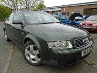 2001 AUDI A4 2.0 SE 4d 129 BHP £595.00