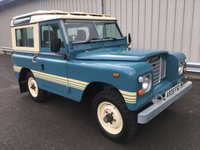 1984 LAND ROVER 88 SERIES 3 FACTORY COUNTY STATION WAGON SWB £14995.00