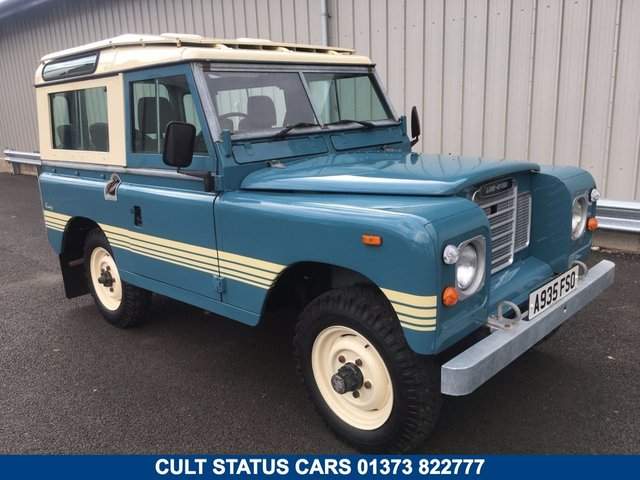 1984 A LAND ROVER 88 SERIES 3 FACTORY COUNTY STATION WAGON SWB
