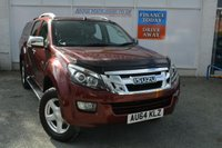 USED 2014 64 ISUZU D-MAX 2.5 TD UTAH DCB 1d 164 BHP READY FOR WORK OR PLAY PICKUP WITH MASSIVE 3500KG TOWING CAPACITY