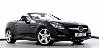 2014 MERCEDES-BENZ SLK 2.1 SLK250 CDI BlueEFFICIENCY AMG Sport 7G-Tronic 2dr £17995.00