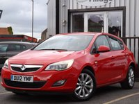 USED 2012 12 VAUXHALL ASTRA 1.7 ACTIVE CDTI 5d 108 BHP FULL VAUXHALL SERVICE HISTORY