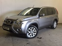 USED 2012 12 NISSAN X-TRAIL 2.0 TEKNA DCI 5d 171  SAT NAV PAN ROOF LEATHER PRIVACY PDC 4WD. FACELIFT MODEL. SATELLITE NAVIGATION. PANORAMIC SUNROOF. STUNNING GREY MET WITH FULL BLACK LEATHER TRIM. ELECTRIC HEATED SEATS. CRUISE CONTROL. 18 INCH ALLOYS. COLOUR CODED TRIMS. PRIVACY GLASS. REVERSING CAMERA. BLUETOOTH PREP. CLIMATE CONTROL. TRIP COMPUTER. R/CD PLAYER. 6 SPEED MANUAL. MFSW. MOT 03/18. ONE PREV OWNER. FULL SERVICE HISTORY. PRISTINE CONDITION. FCA FINANCE APPROVED DEALER. TEL 01937 849492.
