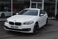 USED 2014 14 BMW 5 SERIES 2.0 520D LUXURY 4d AUTO 181 BHP