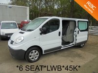 USED 2010 10 RENAULT TRAFIC 6 SEAT CREW VAN 2.0 DCi 115 LWB 6 Speed*AIR CON*