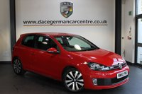 USED 2011 60 VOLKSWAGEN GOLF 2.0 GTD TDI 3DR 170 BHP + EXCELLENT SERVICE HISTORY + SPORT SEATS + HEATED MIRRORS + AUXILIARY PORT + AIR CON + 17 INCH ALLOY WHEELS +