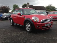 USED 2010 m MINI HATCH COOPER 1.6 COOPER D 3d 108 BHP PRICE INCLUDES A 6 MONTH RAC WARRANTY, 1 YEARS MOT AND A OIL & FILTERS SERVICE AND 12 MONTHS FREE BREAKDOWN COVER