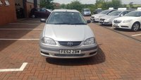 USED 2002 52 TOYOTA AVENSIS 1.8 GS VVT-I 5d 127 BHP