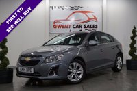 USED 2014 14 CHEVROLET CRUZE 1.7 LTZ VCDI 5d (HIGH SPEC) DRIVES SUPERB,, ONE OWNER,, HIGH SPEC