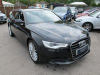 USED 2011 61 AUDI A6 2.0 AVANT TDI DIESEL 5d 175 BHP + NAV + FULL LEATHER H SEATS !