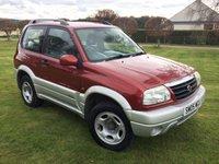 2005 SUZUKI GRAND VITARA 1.6 16V SE 3d 92 BHP £2880.00