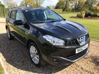 USED 2012 62 NISSAN QASHQAI+2 1.6 PLUS 2 N-TEC PLUS IS DCIS/S 5d 130 BHP PANARAMIC ROOF, SATNAV, REVERSE CAMERA, BLUTOOTH