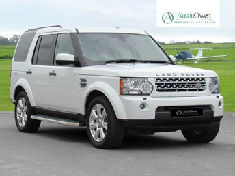 2013 LAND ROVER DISCOVERY 3.0 4 SDV6 HSE 5d 255 BHP £27990.00