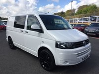 USED 2013 62 VOLKSWAGEN TRANSPORTER CAMPER 2.0 T28 TDI VAN Fully converted camper with 5 seats, bed & more