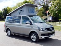 USED 2016 66 VOLKSWAGEN CAMPER VAN T6 T28 2.0TDI 102PS SWB HIGHLINE Camper King Conversion - Sleeps 4