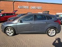 USED 2013 13 FORD FOCUS 1.6 ZETEC TDCI 5d 113 BHP FULL FORD HISTORY NEW SHAPE