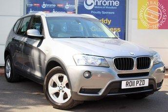 2011 BMW X3 2.0 XDRIVE20D SE 5d 181 BHP £11695.00