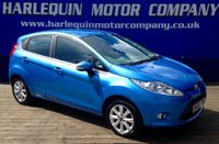 USED 2010 60 FORD FIESTA 1.2 ZETEC 5d 81 BHP 2010 FORD FIESTA 1.25 ZE-TEC 5 DOOR IN METALLIC VISION BLUE 42000 MILES WITH FULL FORD SERVICE HISTORY ALLOYS AIR CON