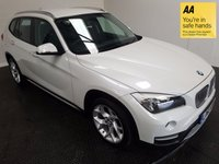 USED 2013 63 BMW X1 2.0 SDRIVE18D XLINE 5d AUTO 141 BHP HISTORY-FULL LEATHER-A/C-ALLOYS