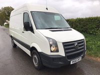 USED 2010 60 VOLKSWAGEN CRAFTER CR35 BLUE TDI H/R