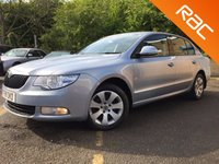 USED 2011 11 SKODA SUPERB 2.0 S TDI CR DSG 5d AUTO MAIN DEALER SERVICE HISTORY, 1 FORMER KEEPER ONLY 1 FORMER KEEPER, MAIN DEALER SERVICE HISTORY