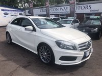 USED 2014 14 MERCEDES-BENZ A CLASS 1.8 A200 CDI BLUEEFFICIENCY AMG SPORT 5d AUTO 136 BHP 0% FINANCE AVAILABLE PLEASE CALL 01204 317705